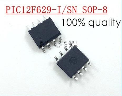 pic12f629-i/sn pic12f629 8-pin, basado en flash 8 bits cmos
