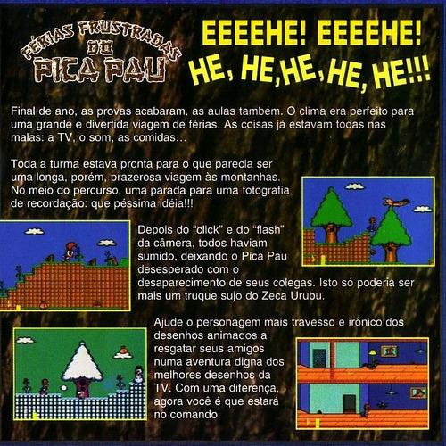 pica pau ferias frustradas - playstation 2 -