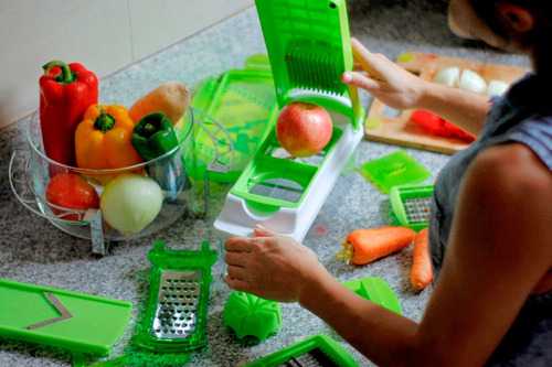 pica todo genius nicer dicer plus raya pela frutas verduras