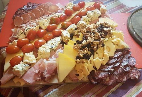 picadas artesanales/servicio de catering