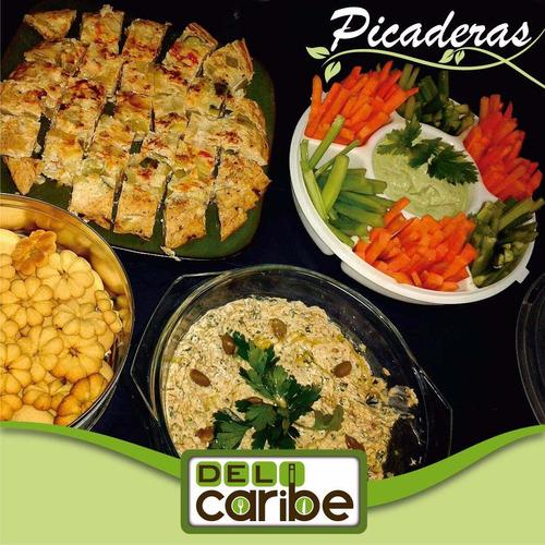 picaderas, comidas y postres. sin lactosa y sin gluten