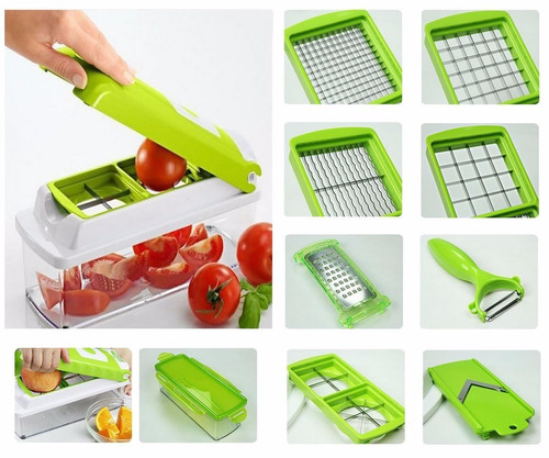 picador cortador verduras multiuso nicer dicer plus