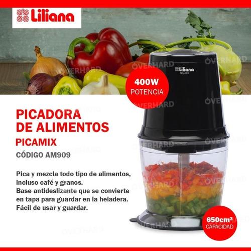 picador de alimentos liliana picamix am909