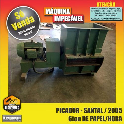 picador de papel/papelão - 2005