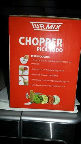 picador de verduras chopper turmix picatodo