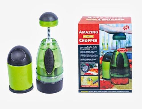 picador picatodo manual chopper para verduras 2 en 1