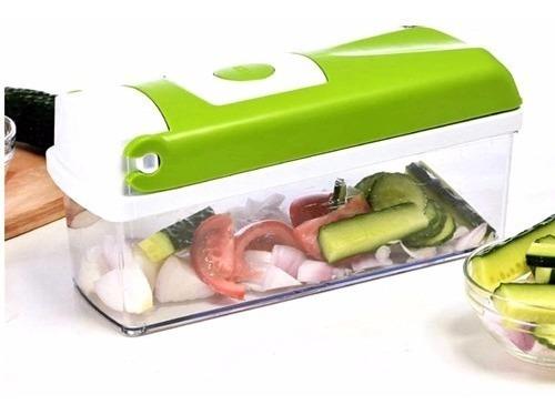 picador verduras cortador ensaladas frutas postres nicer
