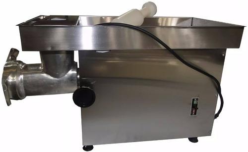 picadora de carne morelli acero 900800 - aj hogar