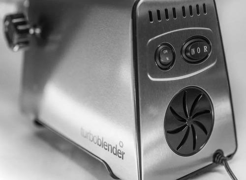 picadora de carne turboblender inclueye 3 discos + pico embu