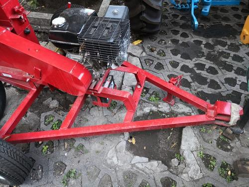 picadora de forrajes swissmex nuevo remolque y motor