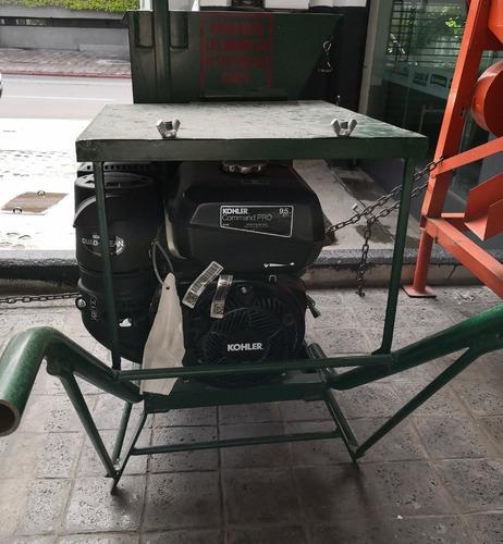 picadora de nopal con motor kohler 9.5hp