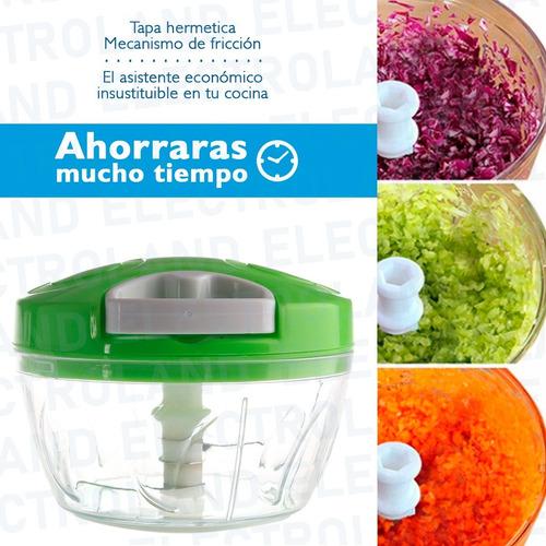picadora manual vegetales frutas carne chopper acero inoxida