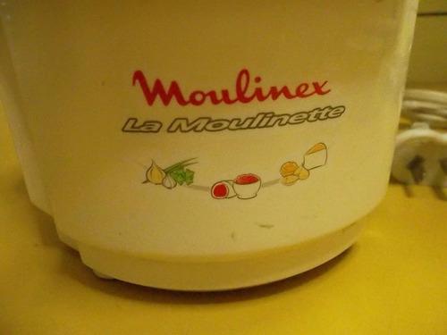 picadora moulinex  moulinette p/repuestos no funciona motor