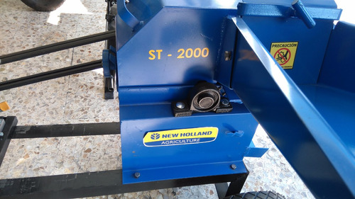 picadora new holland st-2000 de 6.5 hp