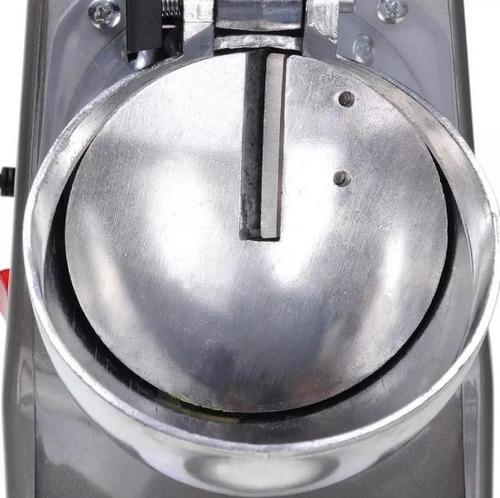 picadora trituradora de hielo cholados, raspados y cocteles