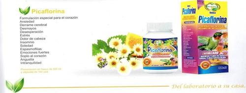 picaflorina capsula extracto 100% natural