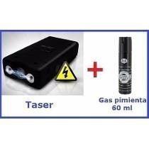 picana electrica stun gun + gas pimienta oferta envios!!