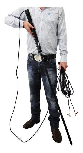 picana elétrica bastão manejo choque gado caminhão bat. 12v