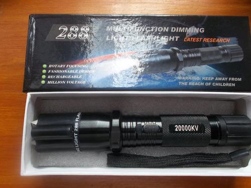 picana linterna eléctrica 20000kv zz288 profesional envios