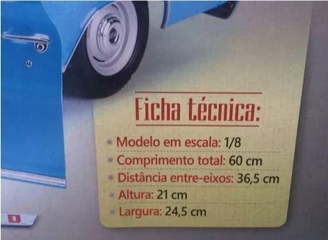 picape ford f-100: fascículo + peças - ed. 01