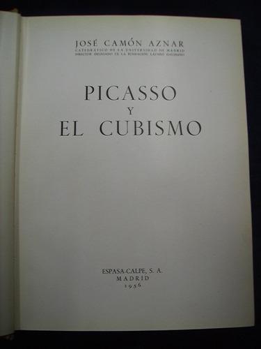 picasso y el cubismo - josé camón aznar