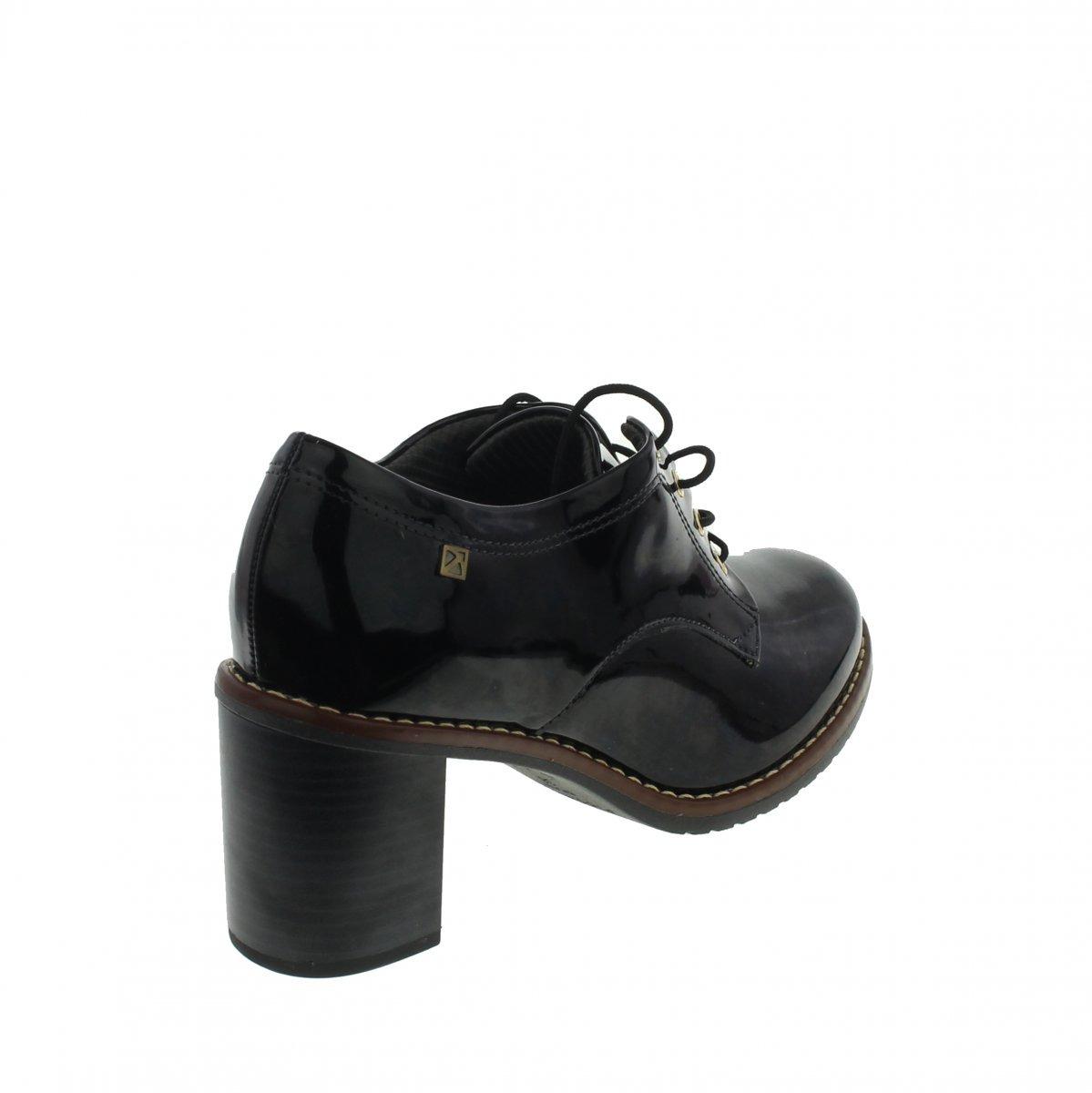 0cd27a0ef Carregando zoom... sapato social piccadilly 342007 feminino preto verniz ...