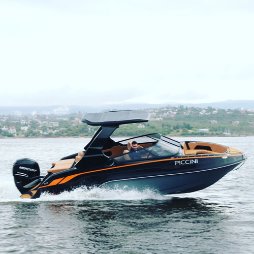 piccini boats lancha 229 hard top s  open
