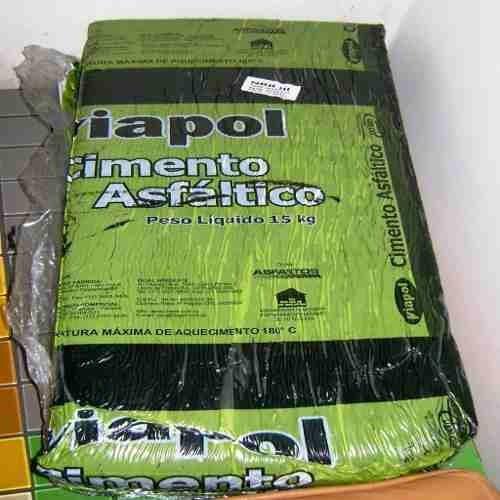 piche asfaltico betume piche asfalto pixe pedra 15kg veda