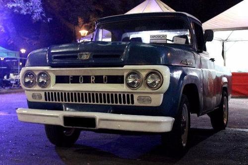 pick up antiga ford f 100 1966 motor 318 - v8