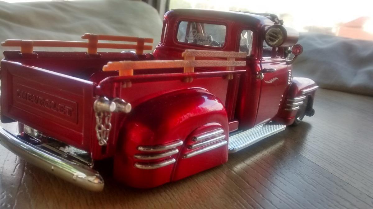 Pick Up Chevrolet 51 Especiales Jada 124 175000 En Mercado Libre 1951 1953 Pickup Cargando Zoom