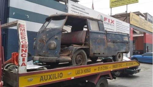 pick up doble cabina para restaurar completamente