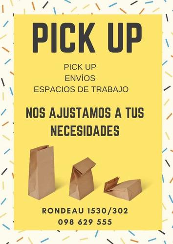 pick up, envíos y espacios de trabajo!
