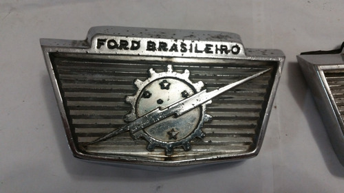 pick up ford f100 emblema capu usado original