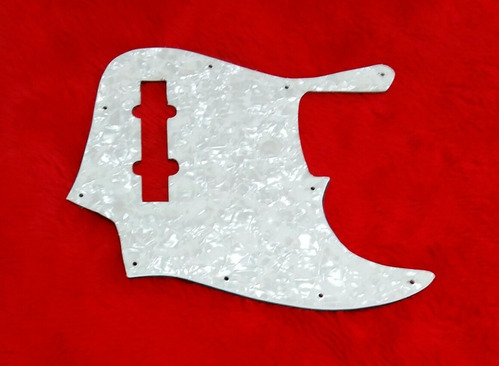 pickguard nacarado squier jazz bass vintage modified '77  v