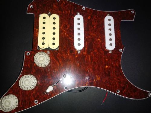 pickguard stratocaster guitarra hss