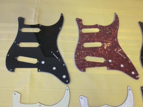 pickguard stratocaster sss 11 pernos tortoise (nuevo)