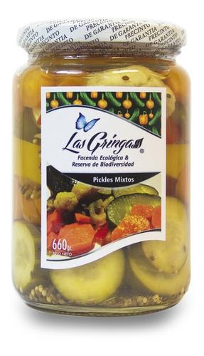 pickles mixtos  las gringas  x660g