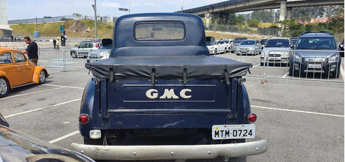 pickup gmc 1954 turbo diesel 5 marchas