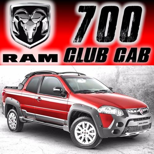 pickup ram 700cc touchscreen adventure abs 4cil muelles rhc