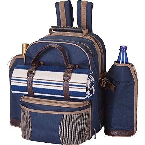 picnic plus tremont 4 personas picnic mochila con manta imp