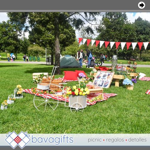 picnic románticos y desayunos o regalos sorpresa