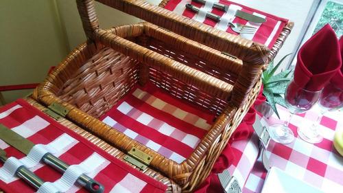 picnic.canastas alhana eco pequeña mantel
