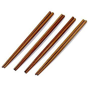 pico de bambú palillos reutilizables palillos conjunto de 10