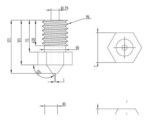 pico impresora nozzle