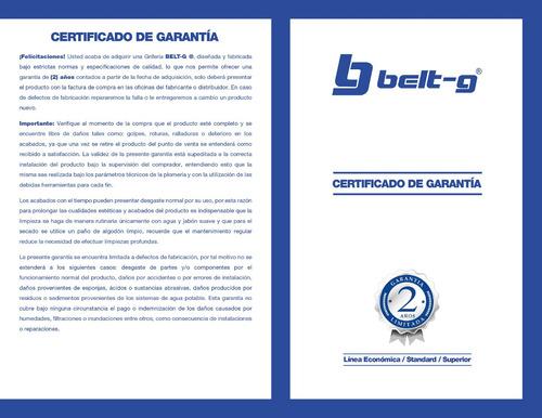 pico para griferia fregadero square belt-g blue gri-1745