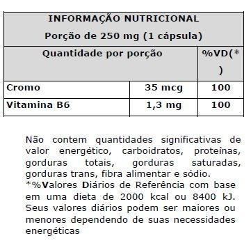 picolinato de cromo - 100 cápsulas - new millen