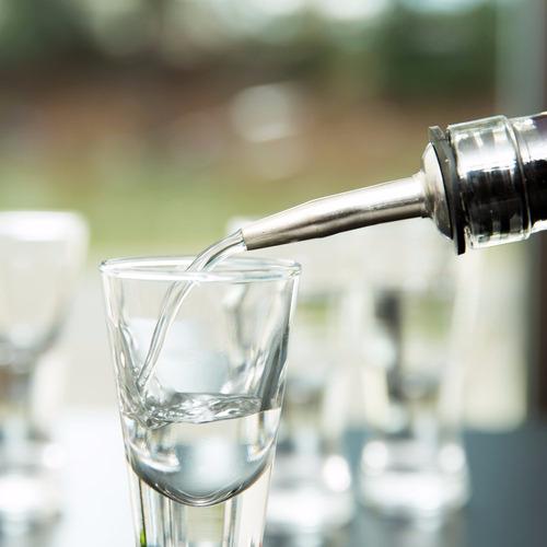 picos dosificadores de acero inox, bartender