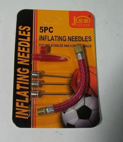 picos inflador pelotas bici juguetes + set adaptador nuevo !