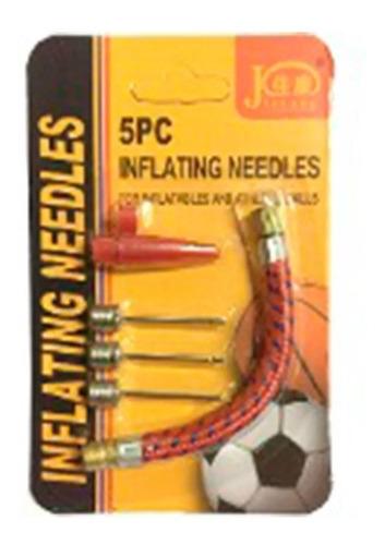 picos inflador pelotas bici juguetes + set adaptador, ya!, mania-electronic