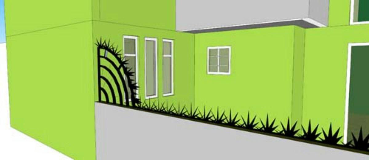 Puntas para protecci n picos de seguridad instalados en mercado libre - Proteccion para casas ...